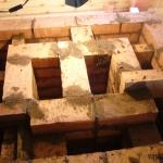 Канальная отопительная печь 4 на 4.5 кирп.