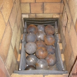 Банная печь-каменка периодического действия