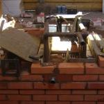 Отопительная Печь 4 на 4,5 кирп. с котлом водяного отопления